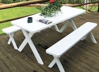 Picnic Tables / Pine Ridge Online is the leading provider in Amish Hand-crafted Picnic Tables, Patio Tables, Outdoor Dining Sets and Bar Sets.