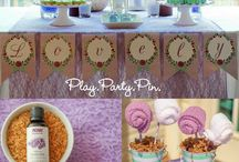 Lemongrass Spa and party ideas / Ideas and products for http://www.ourlemongrassspa.com/wonderwoman / by Jaime Fausnaugh