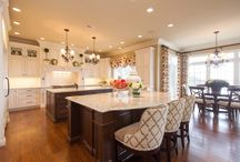 Architectural Kitchen and Bath in Lexington, KY / Expansive Kitchen Floor Plan Creates Comfortable Living Space