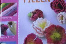 Kreativ Bücher Filzen,Nähen,Stoffgestaltung