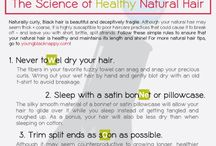 Natural Hair Care / by Am_Bam1000