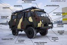 Модификация транспорт для экспедиционных компании. Буровые, разведка