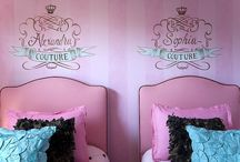 Bedrooms for twin girls