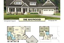 1st Floor Master / House Plans -  Two Story House Plans - 1st Floor Master - Greater Living Architecture - Residential Architecture
