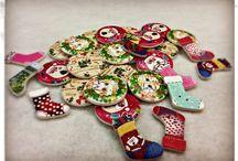 Nadal / Idees, creacions de nadal relacionades amb la merceria el pedacet i tot el que l'envolta