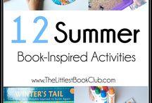 Literature Inspired Activities