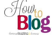My blogging