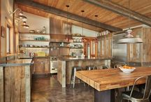 Rafters in Kitchens / by Wendy Bowman
