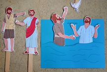 Basecamp / Kids ministry crafts and activity or decor ideas.