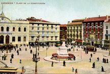 Zaragoza antigua (Spain)