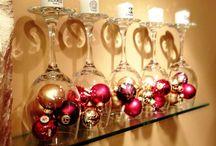 wine glasses decoration ideas