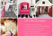 Babe cave/ She Shed