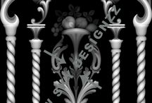 Artcam 3d Full panel models / Artcam 3d designs for wood carving
