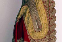 Historic garment woman