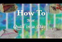 *2018 QuiltinaDay tutorials