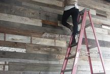 Reclaimed barn wood / by Kerry Copus