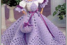Barbiekleidung gehäkelt