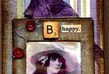 Art - Altered Photo Slide Mounts and Slides / by Judy McKay