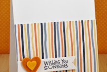 Cards #1 / Fabulous cards by talented others that inspire me to get back to doing things I love.  / by C Marquez