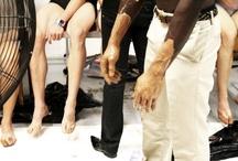 Stiaan Louw Menswear:  Backstage A/W11 / blogger Joe Buitendag of Oh So Cheap / by stiaan louw
