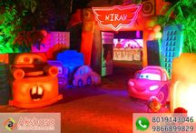 Car 3 D Themes For Kids Birthday Party / Car 3 D Themes For Kids Birthday Party