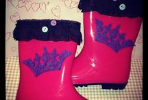 Handmade rain boots
