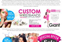 Wristbands on Sale / Wristband Giant is the world leader in the manufacturing & marketing of integrated event solutions that support security, anti-counterfeit, medical, recreational, and special event wristbands.