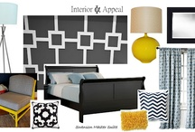 Design Boards / Interior Appeal Design Boards via Colorsaw Blog.  All rights reserved. / by Color Saw