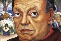 Diego Rivera( 1886 – 1957) / Diego María de la Concepción Juan Nepomuceno Estanislao de la Rivera y Barrientos Acosta y Rodríguez, known as Diego Rivera was a prominent Mexican painter.Rivera had a volatile marriage with fellow Mexican artist Frida Kahlo.