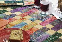 Sewing - Table Runner, Placemats & Mug Rugs