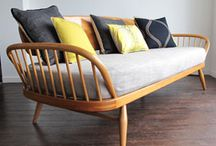 Ercol Studio Couch 355 Style / Vintage Furniture