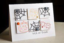 halloween card ideas / by Shalane Gasparac
