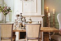 Dining room decor / by Denise Reiland