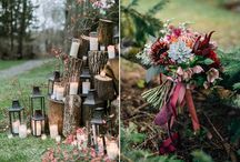 2017 wedding decoration trends / foliages are the new flowers