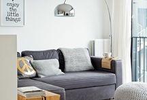 inrichten vakantiehuis / ideeën voor de inrichting woonkamer, keuken en slaapkamers