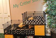 Guinea Pig / Hedgehog cage