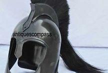 Medieval Helmet / 18 gauge mild steel wearable medieval armour helmet.