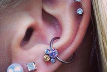 orecchini e piercing