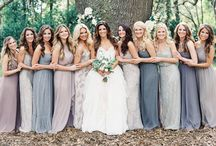 Bridesmaid Dresses and Groomsmen Suits