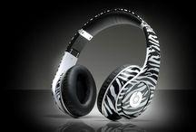 Amy Headphones Zebra / by Amy Hakes