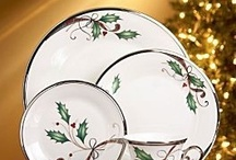Christmas..China/Dishes / by Marilyn Ledford