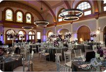 Sala dekoracje - fioletowe