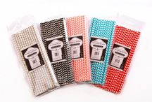 Straws with Style / Paper straws are fun for kids of all ages.  Chevron pattern in five fun colors.  25 per package. Recyclable. $5.95 http://www.simplybaked.us/product/straws/