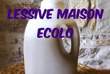 Lessives /produits ménagers naturels