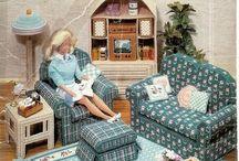 Кукольный дом. Мебель. Одежда. / дом для кукол. мебель для куклы. шьём на куклу. барби