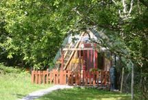 Eco Accommodation / Eco Friendly Self-Catering Holiday accommodation at Crann Og Eco Farm