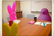FalveyPeeps Suite Study Room Contest / by Falvey Memorial Library