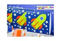 rocket spaceship party ideas