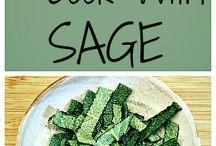 Recipes / Sage