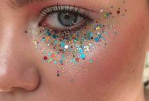 Glitter smink